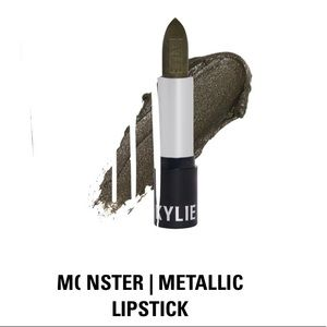 Kylie Cosmetics Monster Metallic Lipstick, NIB